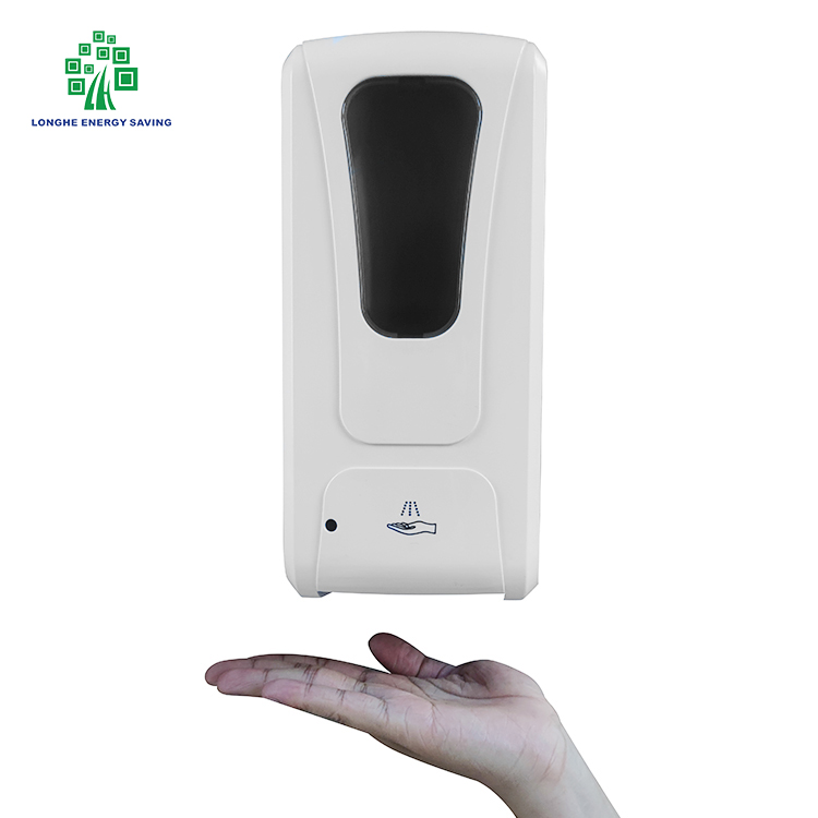 Longhe OEM Custom Automatic Liquid Soap Dispenser Alcohol Gel Shampoo 1000 ML Hand Sanitizer Refill For Touchless Soap Dispenser