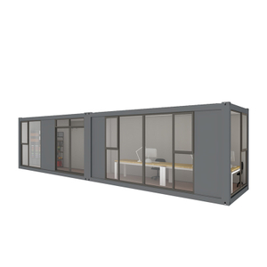 Luxury Two Units Office Container Houses Room With Spacious Office Area
