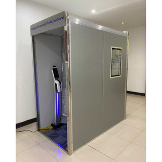 Disinfection Door Face Fast Testing Temperature Measurement Disinfection Tunnel Sterilizer Equipment For Public Places