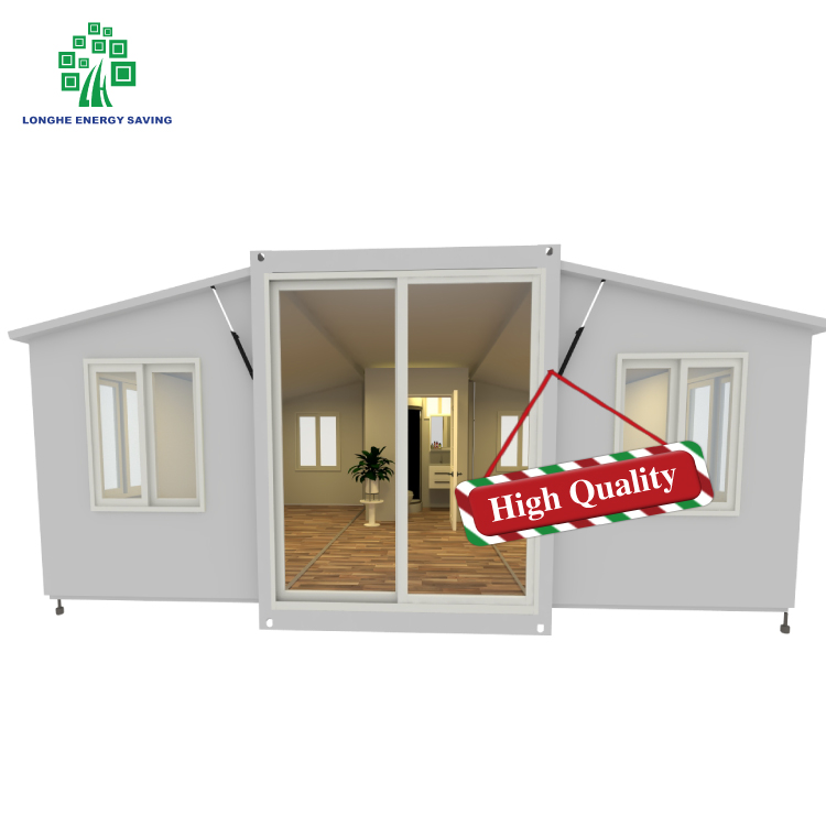 Longhe Manufactured Casa Prefabricada Expandable House Container Flatpack Modular Container Homes Eco Containerized Houses for Sale